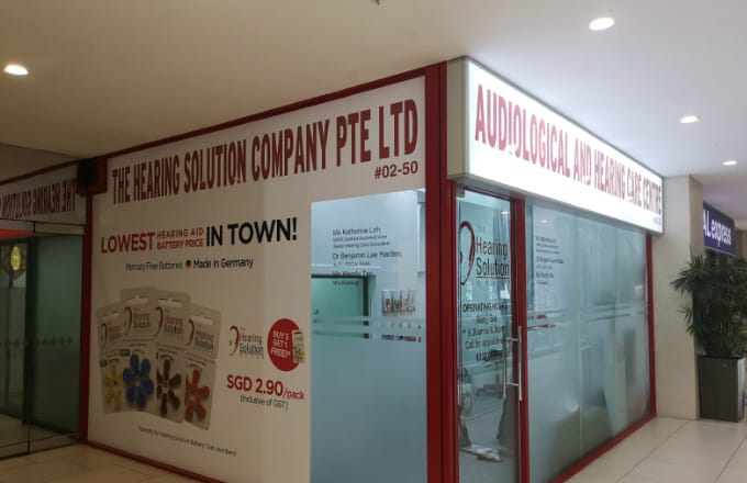 SG Hearing Solution Audiological and Hearing Centre at Lucky Plaza Orchard