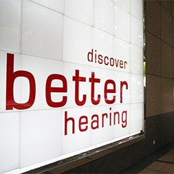 picture of a discover better hearing board